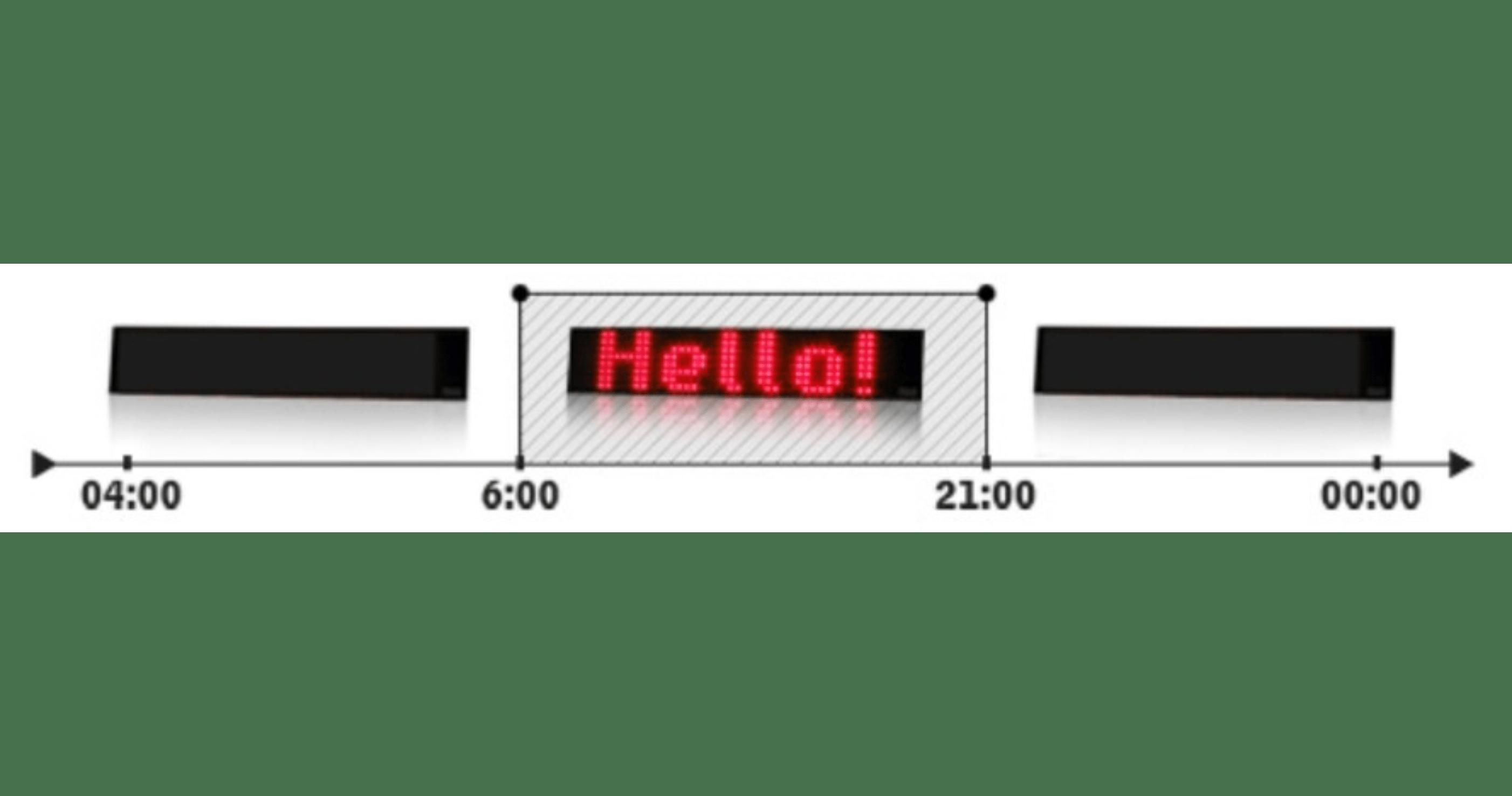 Automatické zapnutí | vypnutí