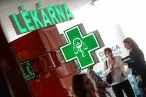 světelné lékárenské kříže