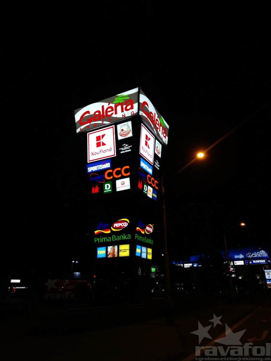 reklamní světelný pylon