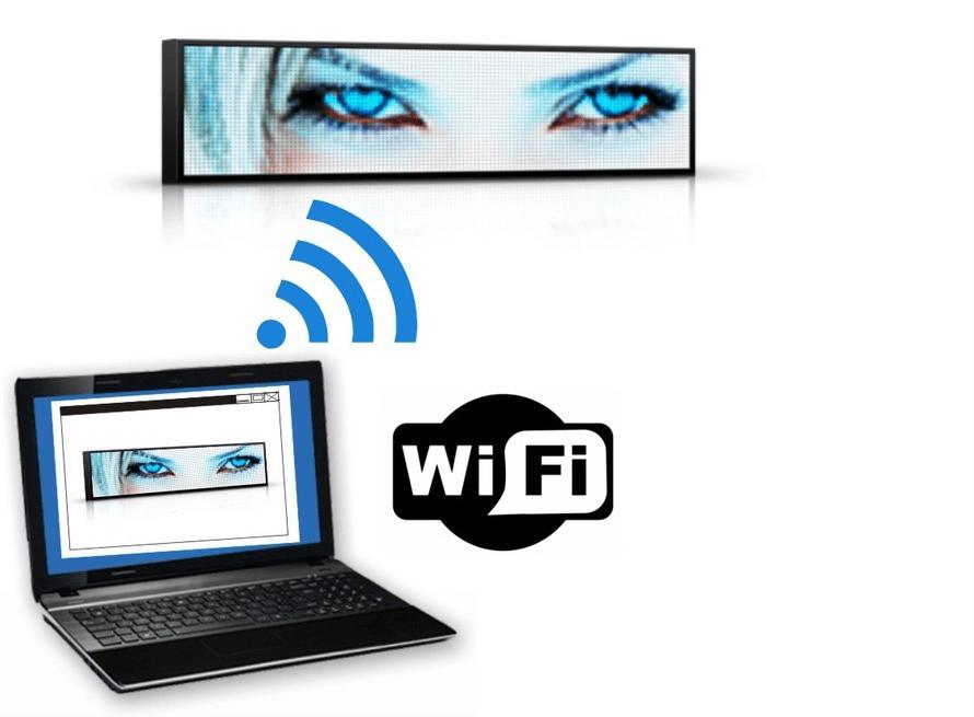 Ovládání přes počítač | WiFi